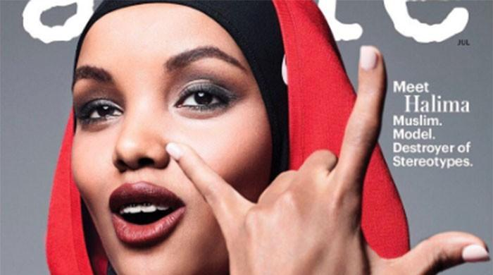 Hijab-wearing model appears on the cover of top US magazine for first time