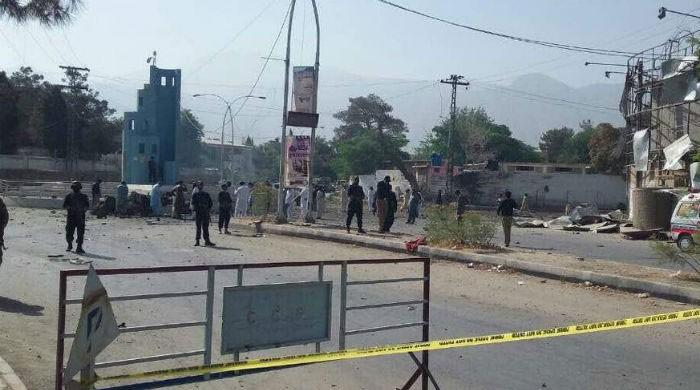 Five killed, several injured in suspected suicide bombing near IGP office in Quetta