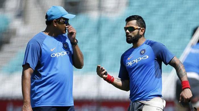 Kohli refuses to discuss Kumble departure