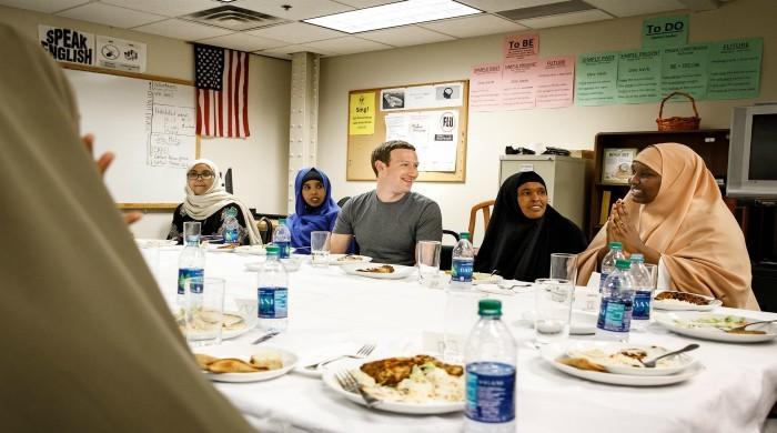 Zuckerberg celebrates his first iftar dinner with Somali refugees