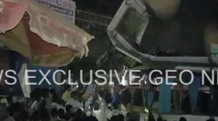 Cylinder blast in passenger bus leaves multiple injured in Karachi