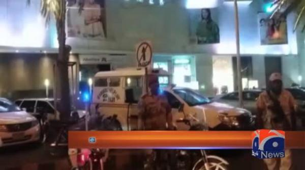 کراچی: رینجرز کی کلفٹن اور دو تلوار پر اسنیپ چیکنگ