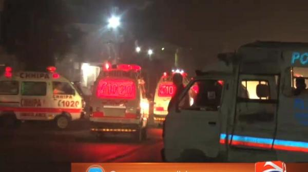 Four policemen martyred in Karachi gun attack  23-June-2017