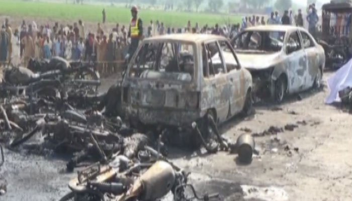 Death Toll In Pakistan Oil Tanker Explosion Reaches 154