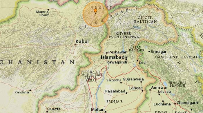 5.5-magnitude earthquake hits Pakistan's north-eastern cities; no casualties