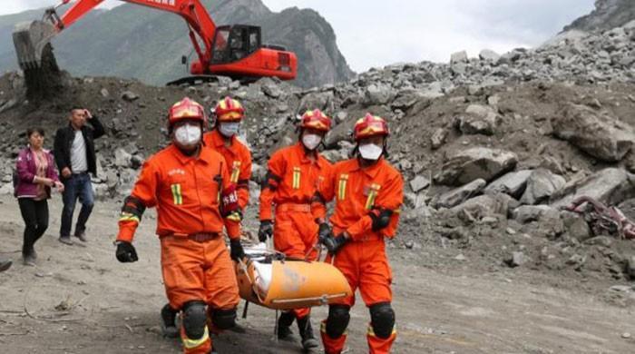 Villagers begin to mourn dead after deadly China landslide