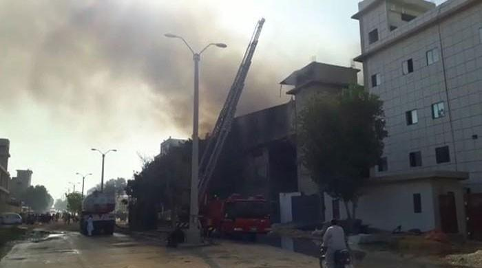 Karachi oil factory fire doused