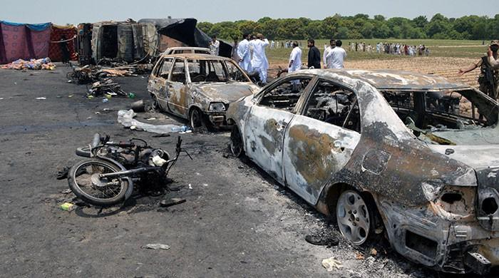 Death toll from Bahawalpur tanker fire rises to 157