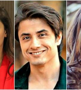 Pakistani celebrities wish love and peace to fans