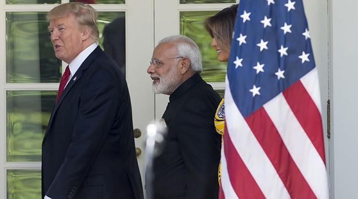 Trump hosts Modi for first meeting