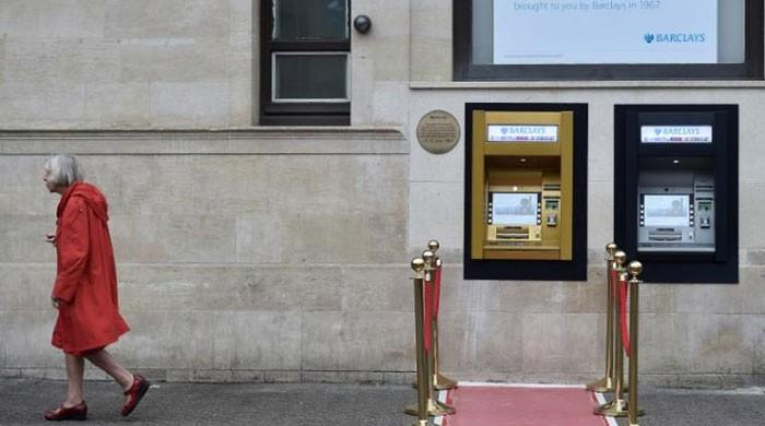 World's first ATM machine turns to gold on 50th birthday