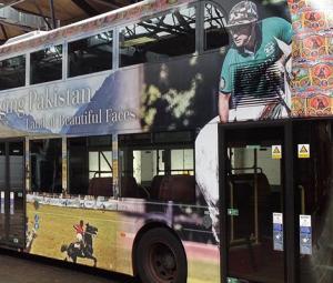 'Emerging Pakistan' branding on London buses