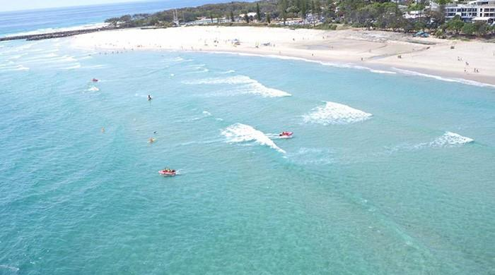 Shark patrol drones in Australia fitted with danger sirens
