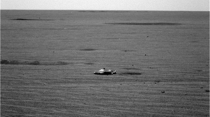 Internet in alien frenzy after shiny object spotted on Mars