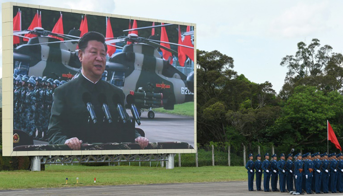 China deploys largest number of troops in Hong Kong