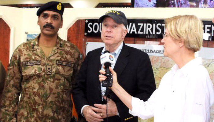 U.S.  senator says Pak Army's efforts are a great success story