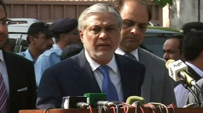Have reconciled all accounts, answered questions adequately: Ishaq Dar after JIT appearance
