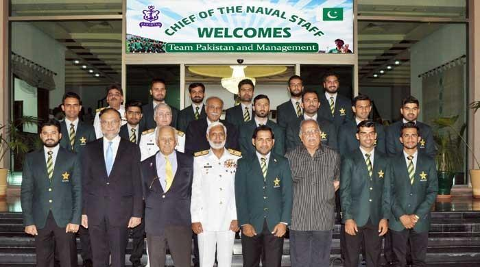 Chief of Naval Staff lauds Pakistan cricket team on winning Champions Trophy
