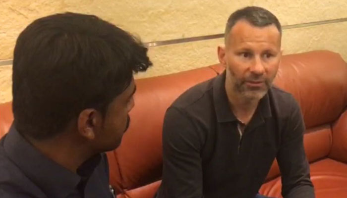 Giggs impressed with Pakistan youngsters' love for soccer