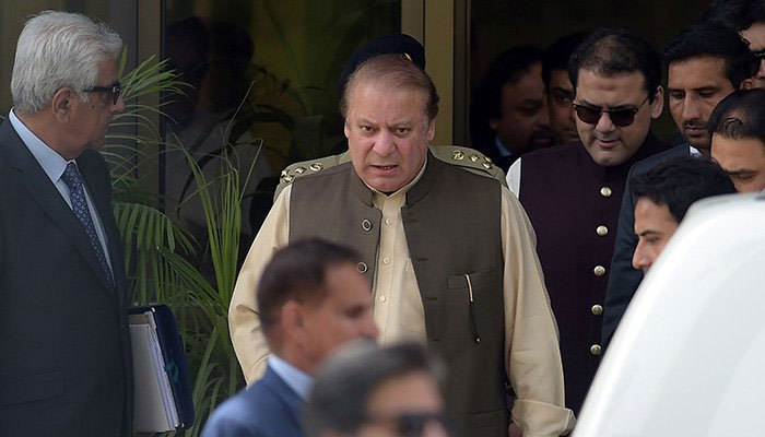 PM Nawaz Sharif during his appearance before the JIT on June 15