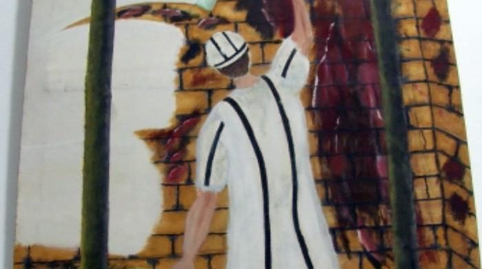 Art Behind Bars — Over 60 canvases by inmates of Central Prison Karachi