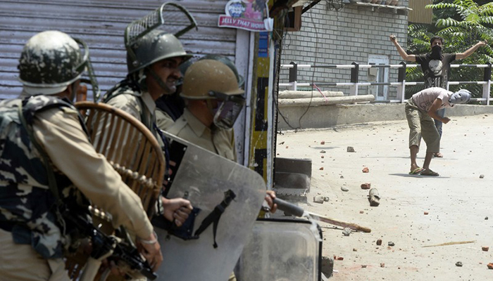Restrictions in Srinagar after militant's death