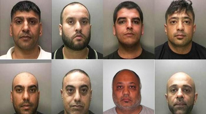 Seven British Pakistani jailed in Britain for trafficking heroin