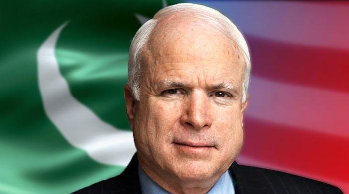 John McCain's changed stance on Pakistan