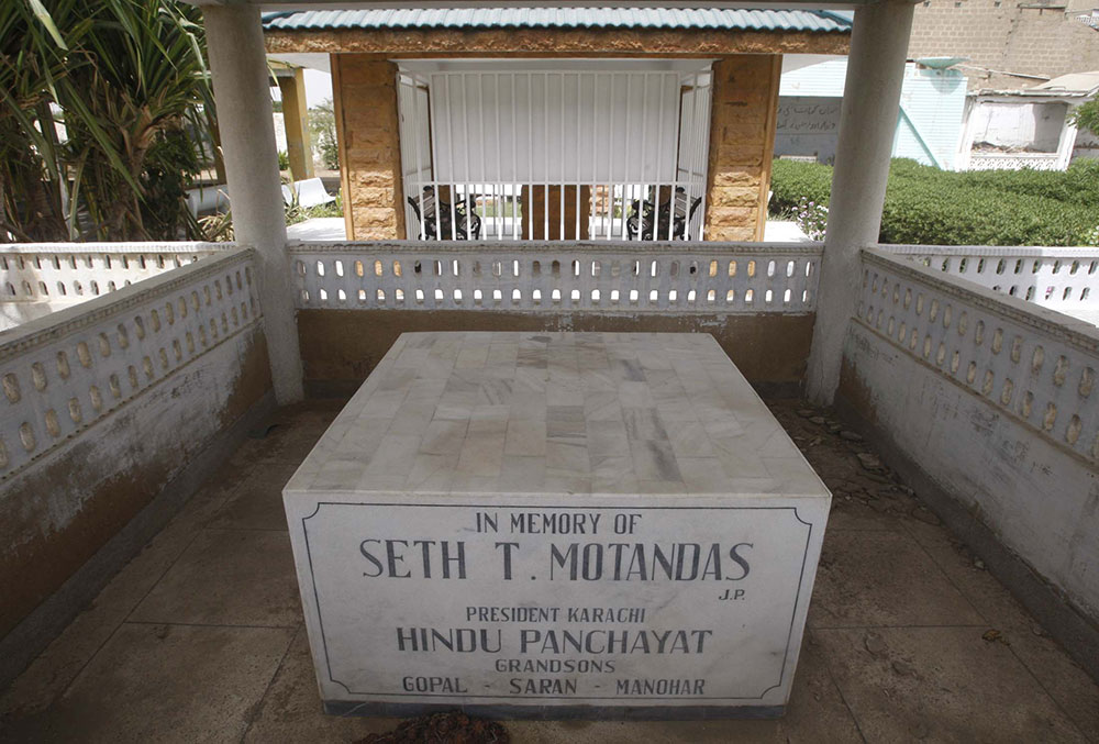 Others, without the conical tomb are shaped to mark the lotus position of the body buried underneath