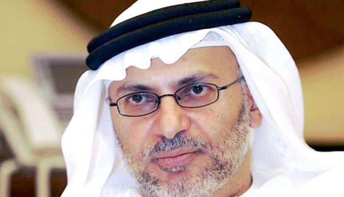 Anwar Gargash the UAE state minister for foreign affairs