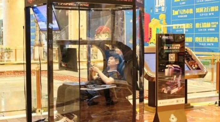 Chinese shopping mall introduces 'husband rest booths'