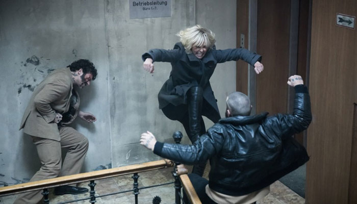 Scene from the movie'Atomic Blonde