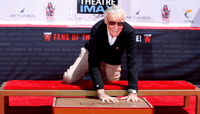 Excelsior! See Stan Lee Get Immortalized at Hollywood's Chinese Theatre