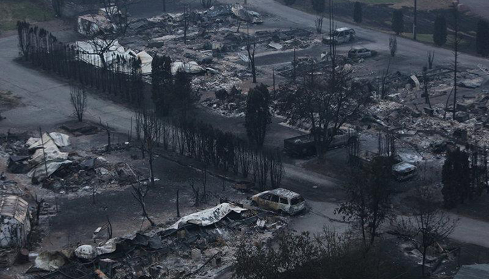 Wildfires in BC have forced nearly 40000 to evacuate