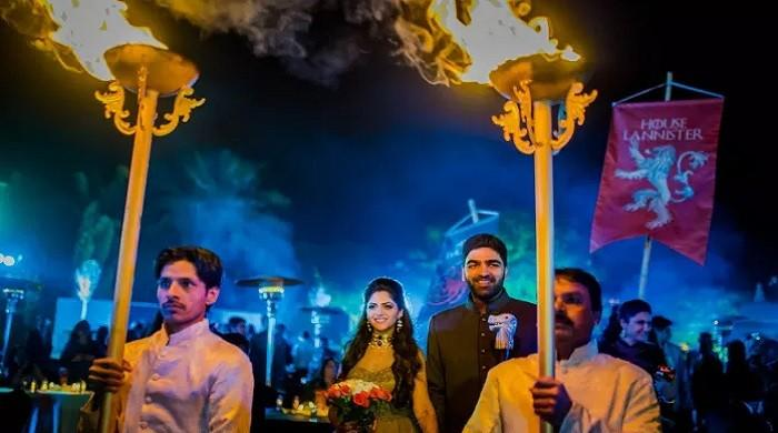 Blessed by the Seven Gods, Mumbai couple has a GoT-themed wedding