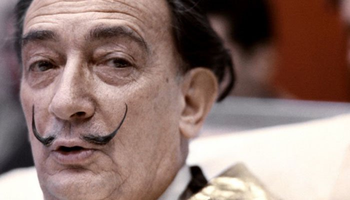 It's surreal! Salvador Dali's moustache 'intact' almost 30 years after his death