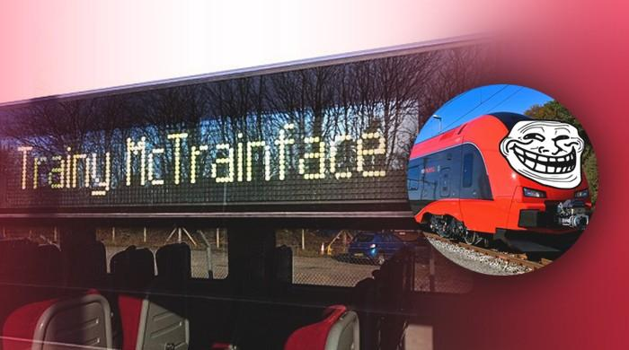 Swedish train to be named Trainy McTrainface in tribute to Boaty