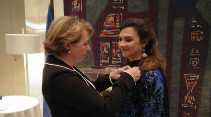 Marvi Memon awarded French National Order of Merit