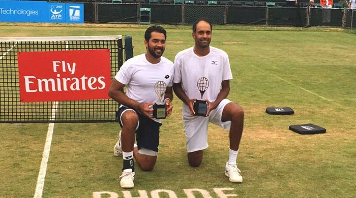 Aisam wins thriller to clinch Hall of Fame Doubles Championship