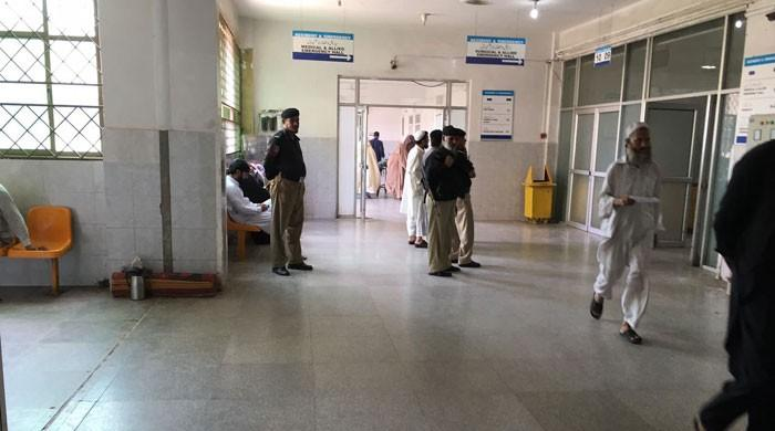 Technician allegedly sexually harasses female patient at Peshawar hospital