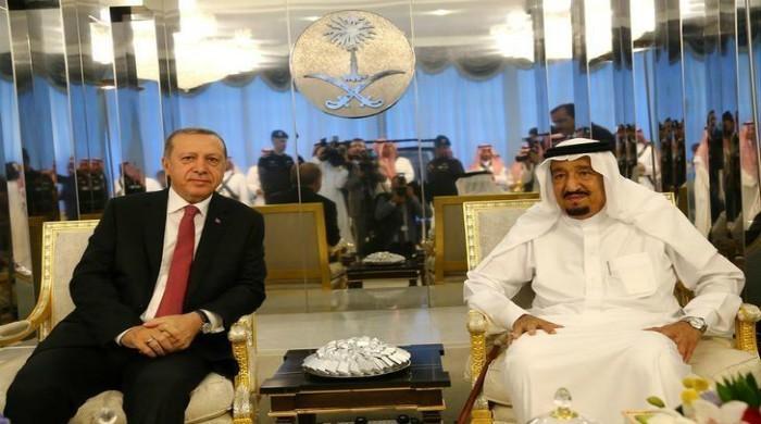 Erdogan kicks off Gulf crisis diplomacy with Saudi visit