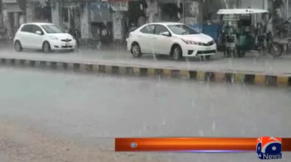 Rain continues in parts of country while heat persists in some areas