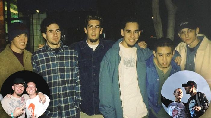 Mike Shinoda shares first photo with deceased bandmate Chester