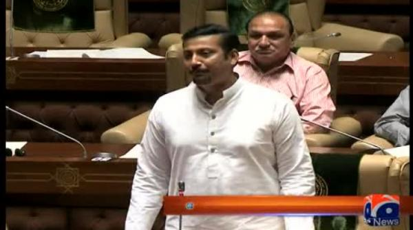 Faisal Subzwari Addresses In Sindh Assembly