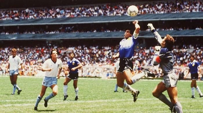 Maradona backs use of video technology to prevent another 'Hand of God'