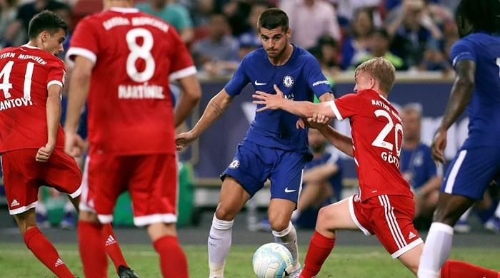 Morata debut upstaged by two-goal Mueller