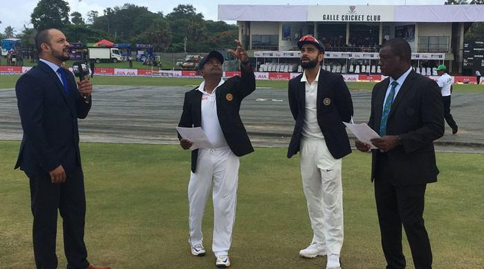 Hardik Pandya debuts as India bat against Sri Lanka