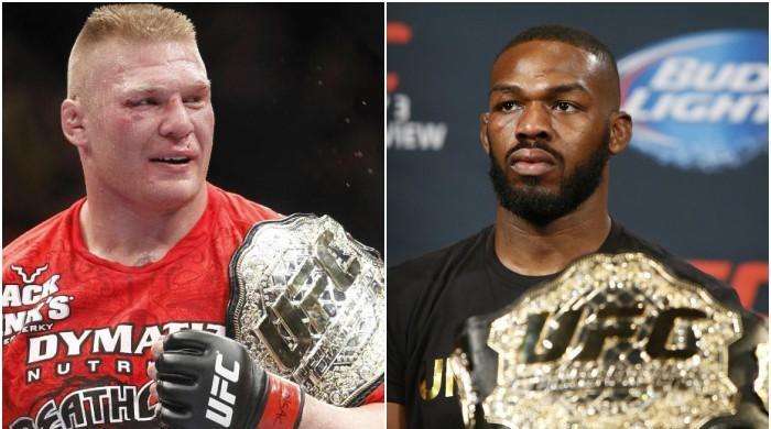 Brock Lesnar vs Jon Jones fight happening soon?