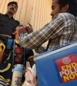 Fata completes one year without a single polio case