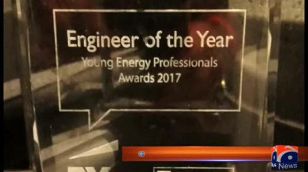 Pakistani awarded 'Engineer of the Year' by energy companies across Europe